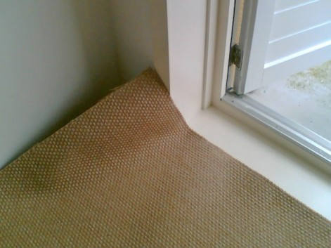 Good hiding spots for your valuables - carpet