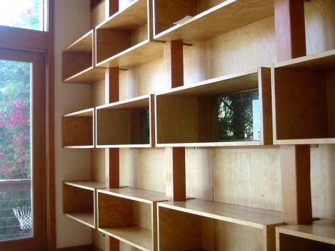 Small Room Ideas - Shelving