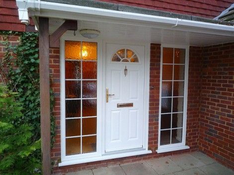 Home improvement - change your front doors for better home security