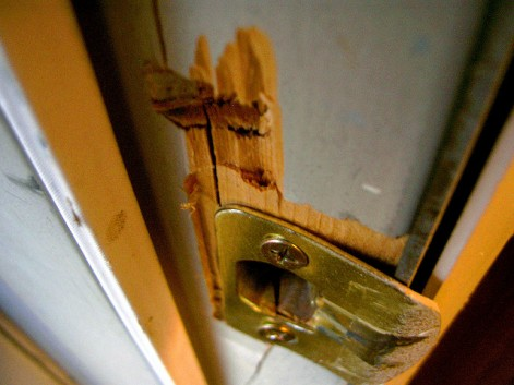 Home Improvement - Strengthen home security by strengthening your door jamb!