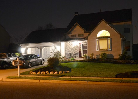 The right outdoor lighting can add a touch of elegance and security to your home.